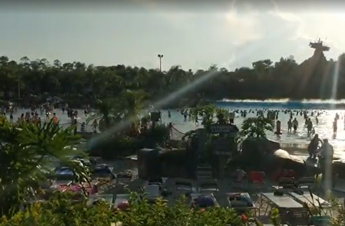 The Typhoon Lagoon Surf Pool is a reason to add a water park on to your Walt Disney World vacation