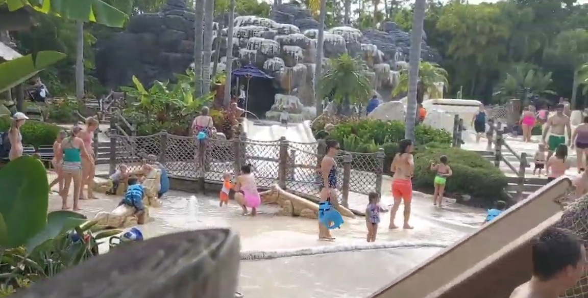 Enjoy kids area at Typhoon Lagoon at Walt Disney World Resort in orlando FL