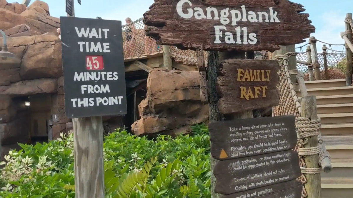 Disney's Typhoon Lagoon Water Park in Orlando Florida has great family rides