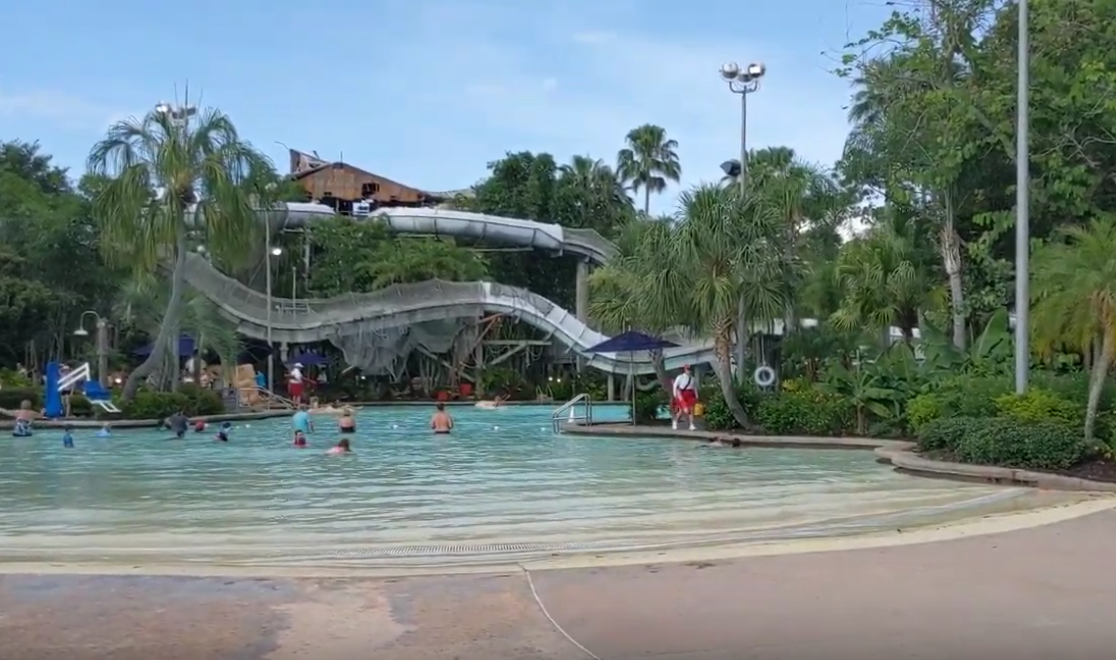 Disney's Typhoon Lagoon has rides for all heights, for children of all ages