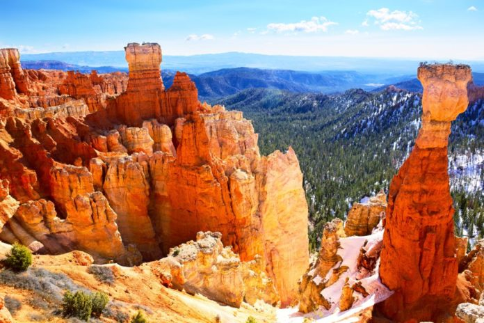 How to get a hotel near Bryce Canyon in Utah for under $100/night