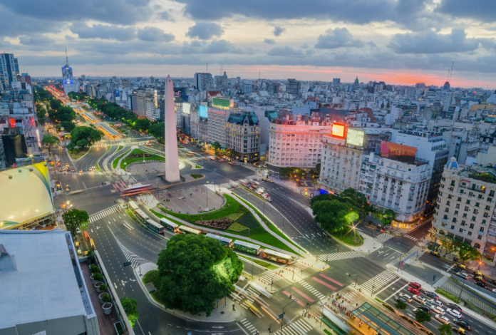 Discounted prices for Buenos Argentina in summer travel sale