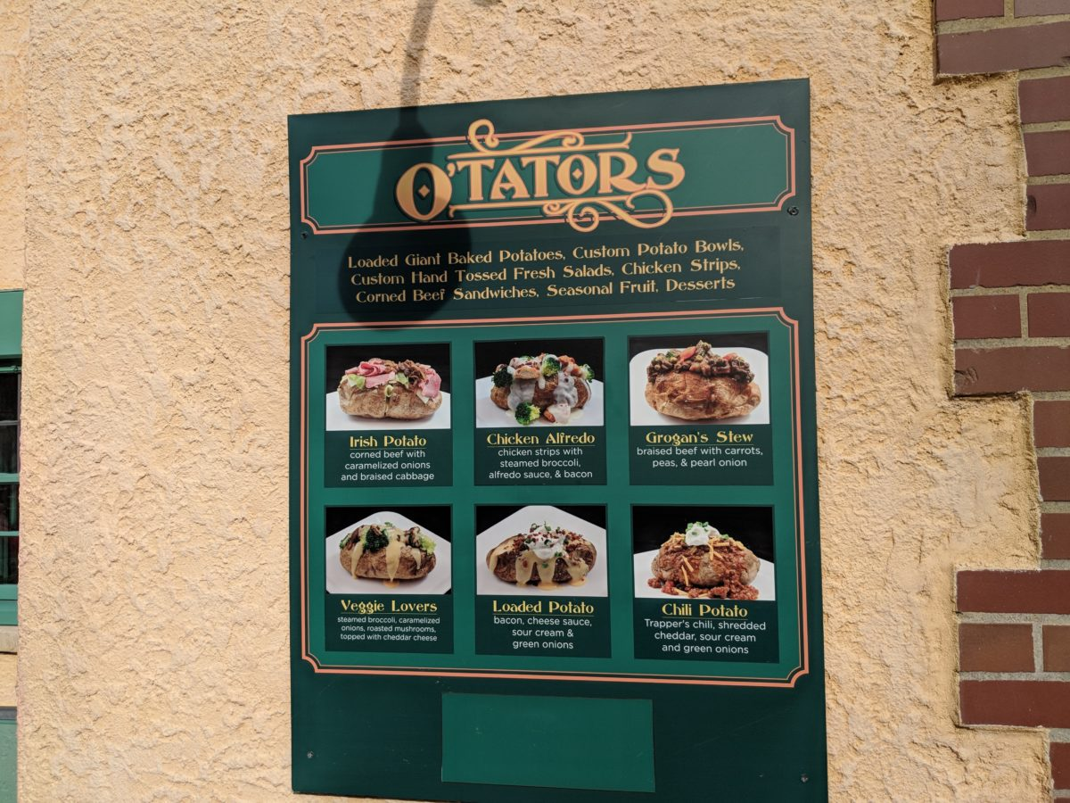 Variety of dining options & different cuisines is a reason Busch Gardens is a great theme park