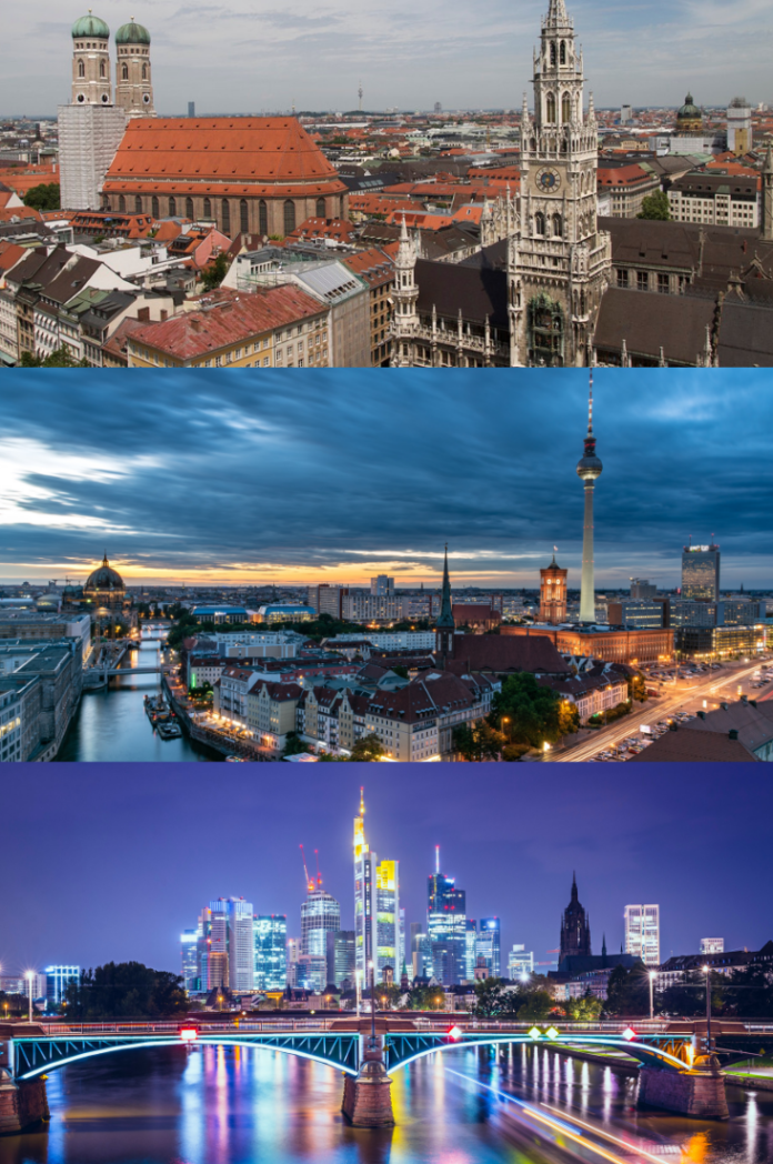 Discounted hotel stays in Munich, Berlin & Frankfurt Germany
