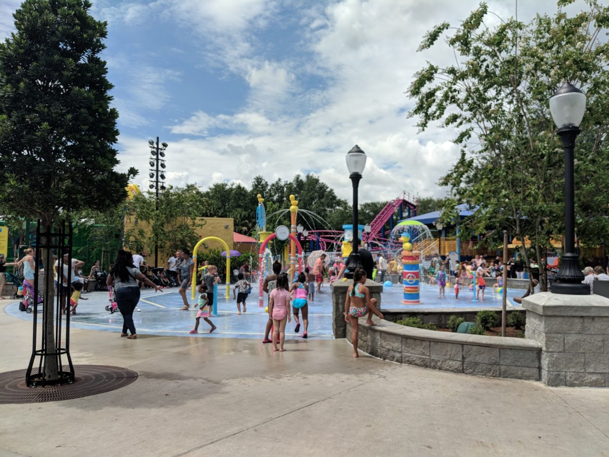 SeaWorld Orlando's new Sesame Street section has a great way for children to cool off in the sun