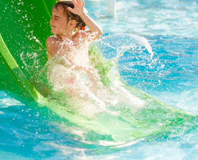 Enjoy children & toddler area, thrill rides at beach themed water park in Mason Ohio for a discounted rate