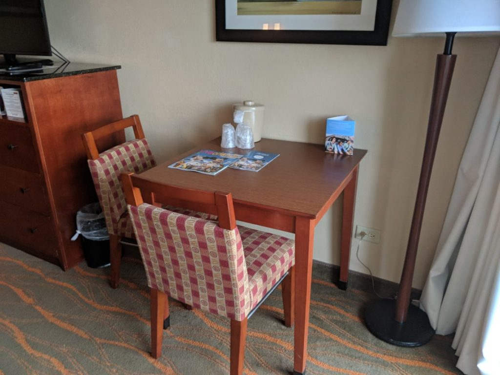 One of the benefits of staying a Disney World on-site DIsney Springs hotel, Best Western, is their huge rooms
