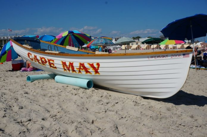 A picture of Cape May, New Jersey. Find out what the top luxury hotels are there