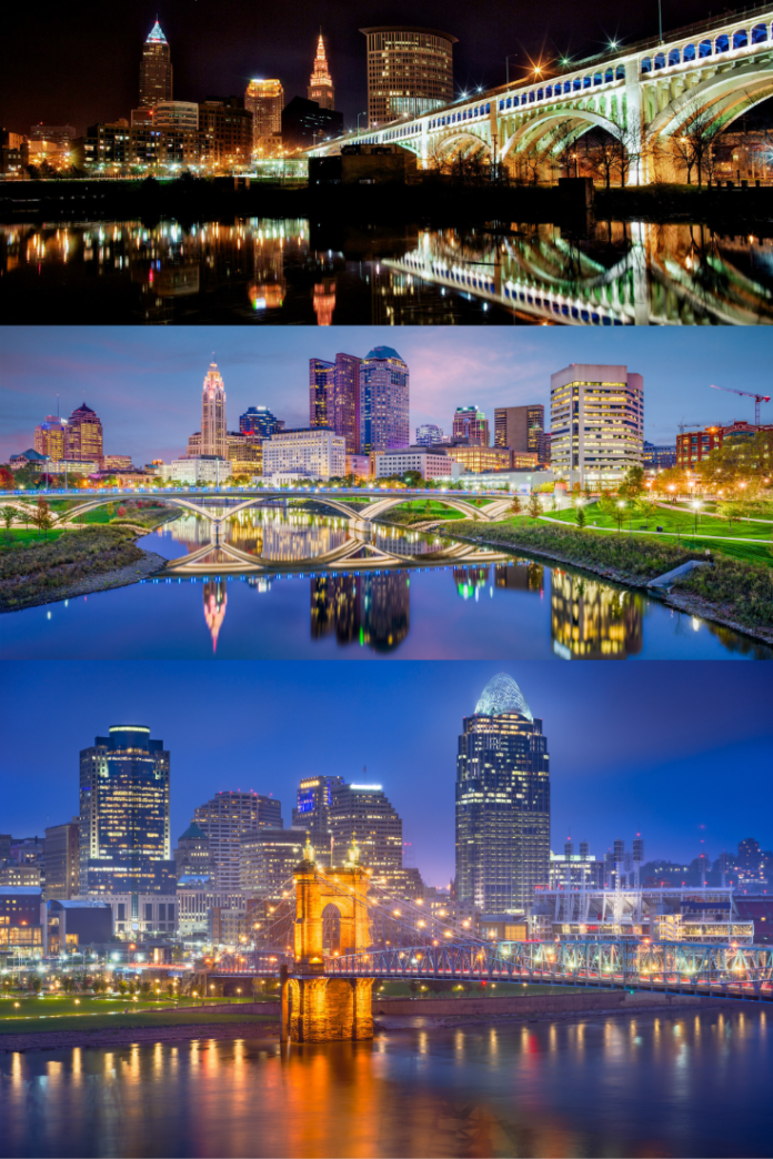 Discounted hotel stays in Cincy, Columbus & Cleveland, Ohio