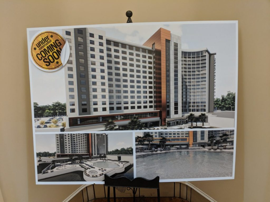 A picture of the expansion coming to Disney Springs hotel Best Western at Walt Disney World in Orlando Florida