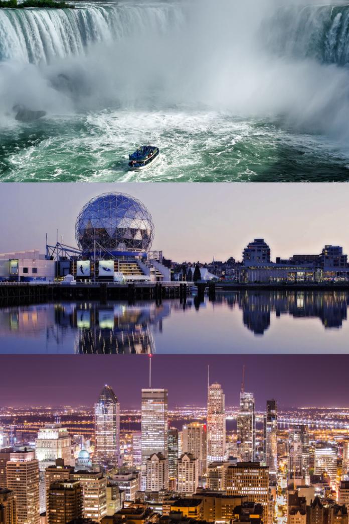 Win a trip to Montreal, Vancouver, Niagara Falls, Halifax, Toronto or Calgary